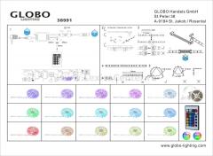 Светильник Globo 38991 LED Band