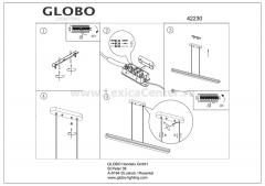 Светильник Globo 42230 Sawo
