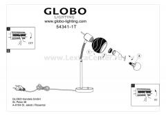 Светильник Globo 54341-1T Elliott
