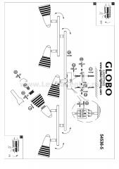 Светильник Globo 54536-5 Caleb