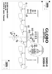 Светильник Globo 54983-6 Gilian