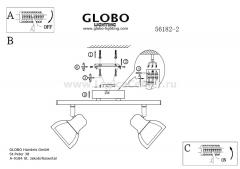Светильник Globo 56182-2 Nashville
