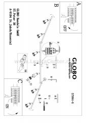 Светильник Globo 57994-6 Dante