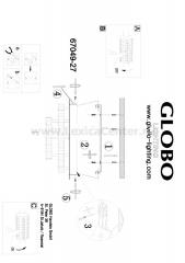 Светильник Globo 67049-27