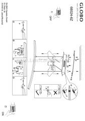 Светильник Globo 68024-6Z Mauricio