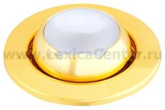 Светильник накаливания FT9212-50 сфера пов., золото