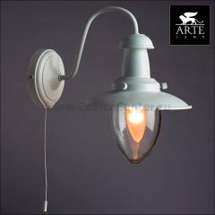 Светильник настенный бра Arte lamp A5518AP-1WH Fisherman