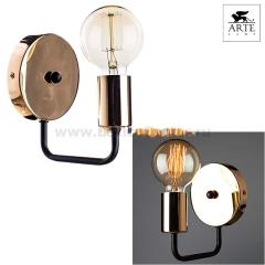 Светильник настенный бра Arte lamp A6001AP-1BK Gelo