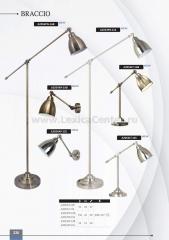 Светильник настольный Arte lamp A2054LT-1SS BRACCIO