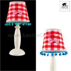 Светильник настольный Arte lamp A5165LT-1WH Provence
