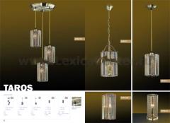 Светильник настольный Odeon light 2343/1T бронза Taros