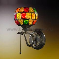 Светильник Odeon Light 2094/1W Velute коричневый
