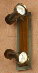 Светильник поворотный спот Lussole LSL-7101-02 NOVARA
