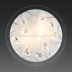 Светильник Сонекс 1233 Vesa белый/хрусталь