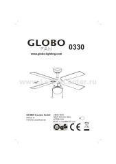 Светильник вентилятор Globo 330 Champion