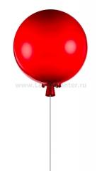 Светильник воздушный шар красный Loft it 5055C/Sred 25см