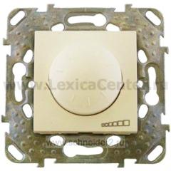 Светорегулятор поворотный 40-400W для л/н и г/л с обмот. тр-ром, перекл MGU5.511.25ZD