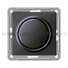 Светорегулятор Wessen 59 с/у без рамки 450ВТ (250В, ЛН) черный бархат (VPP-5S1-6-86)