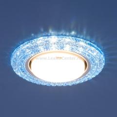 Точечный светильник со светодиодами Elektrostandard 3030 GX53 BL синий
