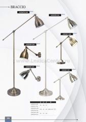 Торшер Arte lamp A2054PN-1AB BRACCIO