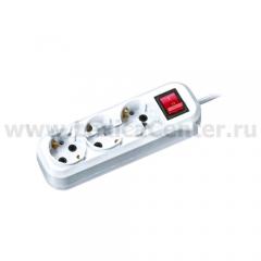 Удлинитель Navigator 71 455 NPE-S1-03-300-ESC-3x0.75 с/з с выкл. 3 гн. 3м