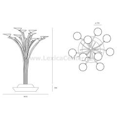Уличный светильник Artemide T080600 Solar Tree