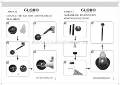 Уличный светильник Globo 33963-12 Solar