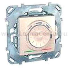 Unica Термостат электронный 8А (от +5 до +30С) бежевый MGU5.501.25ZD