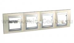 Unica Top Опал Рамка 4-ая MGU66.008.095