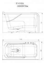 Ванна BT-61103AR