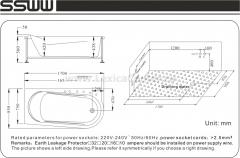 Ванна JL503AR