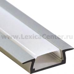 Встраиваемый профиль для светодиодной ленты PAL 2206 (2м) анодированный Jazzway