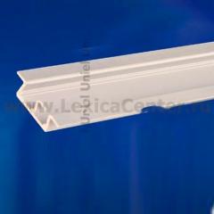 Встраиваемый профиль для светодиодной ленты UNIEL UFE-A01 SILVER 100 POLYBAG