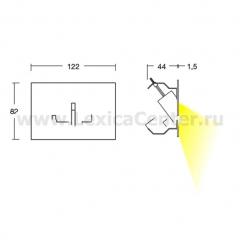 Встраиваемый светильник Linea Light 94116 Nia - Nuo