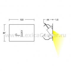Встраиваемый светильник Linea Light 94117 Nia - Nuo