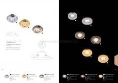 Встроенный светильник  Maytoni DL300-2-01-G Metal