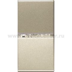 Выключатель 1 модуль 16А шампань Zenit (Niessen) N2101 CV
