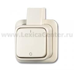 Выключатель 2-х полюсный для откр. монтажа Duro 2000 AP белый [BJE2601/2 AP] 1042-0-0654