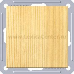 Выключатель Wessen 59 с/у без рамки одноклавишный (250В, 16АХ) сосна (VS116-154-7-86)