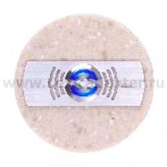 Zamel Кнопка звонка декоративная круглая (темный) (PDK 252(темный))