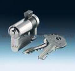 Замок для индивидального ключа с 3-мя ключами (ABB) [BJE0520 PZ-VS] 0470-0-0013
