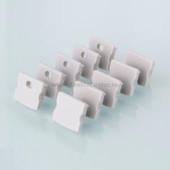 ZLL-2-ALP001-R Электростандарт Комплект заглушек для накладного алюминиевого профиля для светодиодной ленты (10 пар)