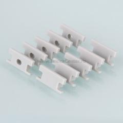 ZLL-2-ALP002 Электростандарт Комплект заглушек для встраиваемого напольного алюминиевого профиля для светодиодной ленты (10 пар)