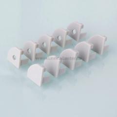 ZLL-2-ALP004 Электростандарт Комплект заглушек для углового алюминиевого профиля для светодиодной ленты (10 пар)