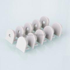 ZLL-2-ALP005 Электростандарт Комплект заглушек для потолочного алюминиевого профиля для светодиодной ленты (10 пар)